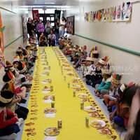 【365-86】大班日記10-胖姐學校第一次的感恩餐會