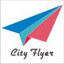 城市。飛行