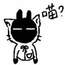 in貓外套的黑兔妖 圖像