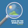 世界地圖上的點點