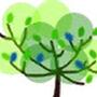 薄荷綠小樹