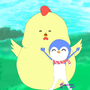 企鵝與胖雞